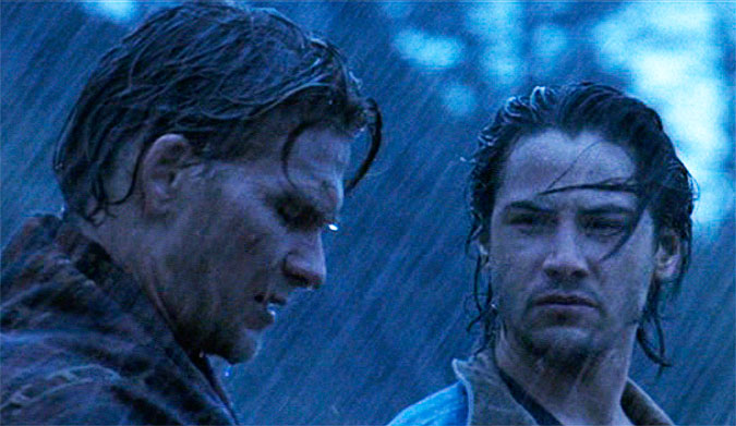 Bodhi's fate is to surf the 50 year storm in the 1991 Point Break