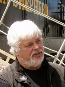 Sea Shepherd founder Paul Watson may have been the inspiration for Ono Ozaki. Photo Source: Witty Lama, www.wikipedia.com