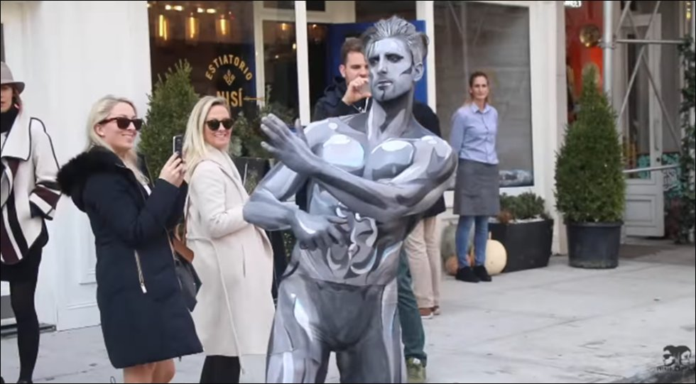 The Marvel superhero is a hit in the Big Apple