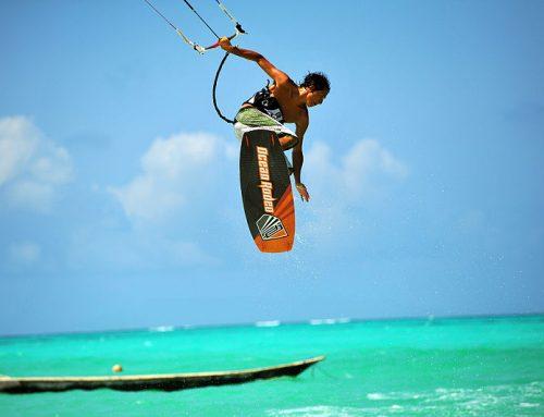 Extreme Sports 101: Kitesurfing